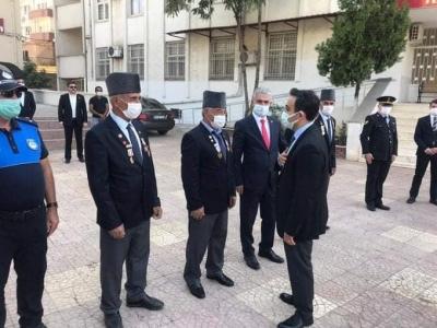 idil'de, Gaziler Günü, düzenlenen törenle kutlandı.