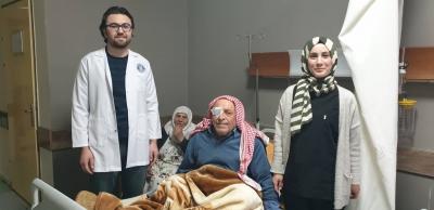 İdil'de, ilk defa katarakt ameliyatı yapıldı