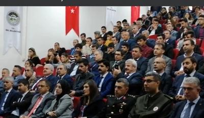 idil'de İstiklal Marşı'nın kabulü ve Mehmet Akif Ersoy'u anma programı düzenlendi.