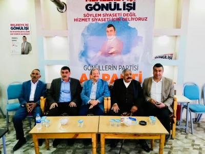 İdil'de Kıçan  Aşiretinden AK Parti'ye Destek