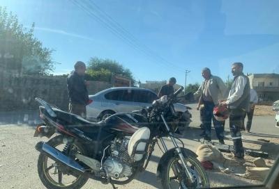 idil'de Maddi Hasarlı Trafik Kazası