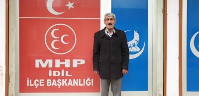 İdil'de MHP'li aday, AK Parti adayına destek için çekildi