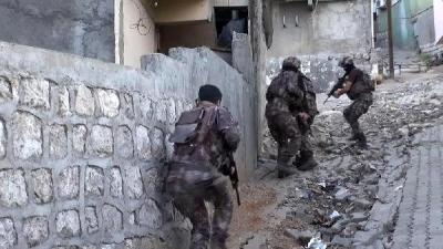 İdil'de PKK Operasyonu Gözaltılar Var.