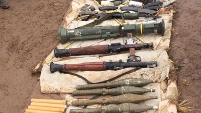 İdil'de PKK'lılara  Ait Silah ve Mühimmat Ele Geçirildi