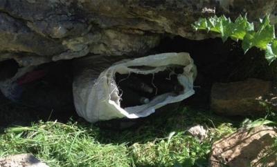 İdil'de PKK'lılara  Ait 16 El Bombası Bulundu