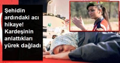İdil'de şehit düşen Astsubay Esma Çevik'in kardeşi konuştu: Bizi ablam okuttu, kol kanat gerdi