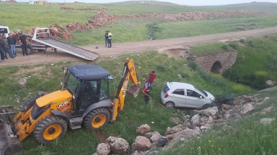İdil'de trafik kazası: 1 yaralı