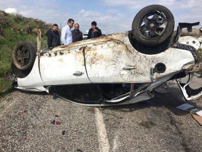 İdil'de Trafik Kazası: 3'ü Çocuk 6 Yaralı