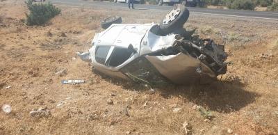 İdil`de Trafik Kazası: 1 Ağır Yaralı
