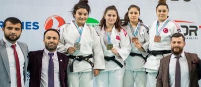 Judo'da Türkiye dereceleri geldi