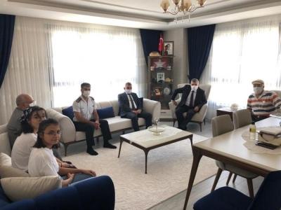 Karaman Valisi Işık'tan Şehit Ailesine Ziyaret