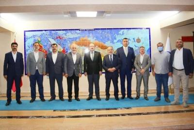 Kızılay Genel Başkanı Dr. Kerem Kınık Şırnak Valisi Ali Hamza Pehlivan'ı Ziyaret Etti.