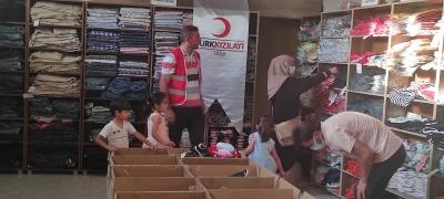 Kızılay, İhtiyaç Sahipleri İçin idil'de Giyim Mağazası Açtı