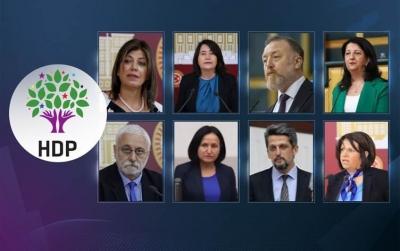 Kobani soruşturması kapsamında HDP'li 9 milletvekili hakkında fezleke hazırlandı