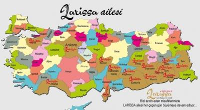 Larissa, Türkiye'nin öncüsü olma yolunda