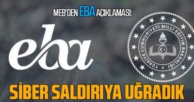 MEB'den EBA açıklaması: Siber saldırıya uğradık