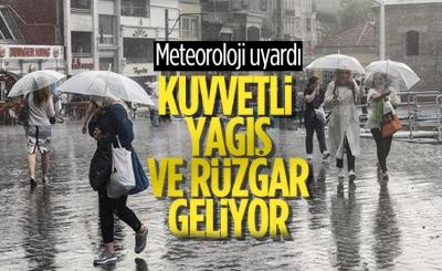 Meteoroloji: Kuzey ve güneyde sağanak, doğuda kar var