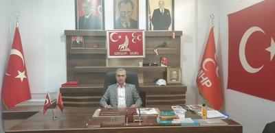 MHP İdil İlçe Başkanı Abdullah Dalmış'tan 'Öğretmenler Günü' Mesajı
