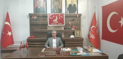 MHP idil İlçe Başkanı Abdullah Dalmış'ın 30 Ağustos Zafer Bayramı Mesajı.