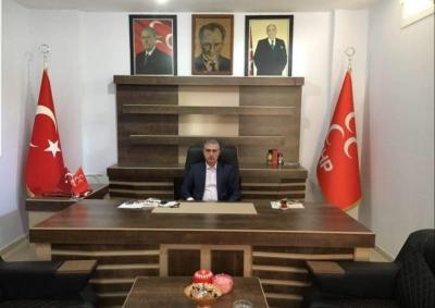 MHP idil İlçe Başkanı  Abdullah Dalmış'tan Ramazan Bayramı mesajı