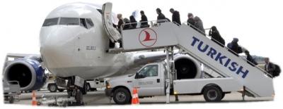 Ocak ayında 61 bin 806 kişi uçtu