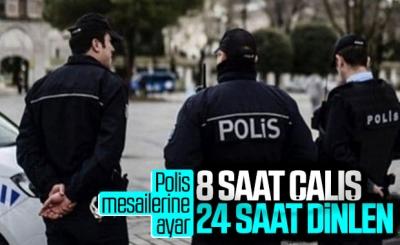 Polislerin çalışma şartlarında iyileştirmeler yapıldı
