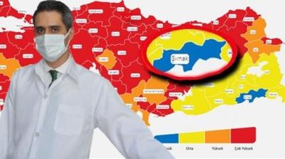 Risk haritasındaki tek mavi il! Şırnak İl Sağlık Müdürü başarılarının sırrını anlattı