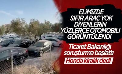 Sıfır otomobilleri stokladığı iddia edilen Honda Türkiye'den açıklama