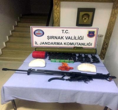 Silopi'de PKK'lılara Ait Mühimmatı Ele Geçirildi
