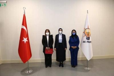 Şırnak AK Parti İl Kadın Kolları'nda Görev Değişikliği