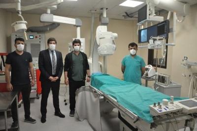 Şırnak Devlet Hastanesinde anjiyo merkezi açıldı