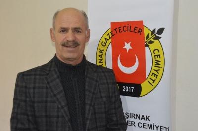 Şırnak Gazeteciler Cemiyeti Yönetim Kurulu Başkanı Cafer Balık 10 Ocak Çalışan Gazeteciler günü kutlama mesajı yayınladı.