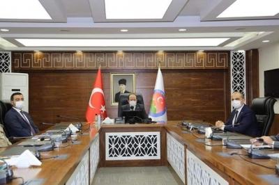 Şırnak Valisi Ali Hamza Pehlivan Başkanlığında il Pandemi Kurulu Toplantısı Gerçekleştirildi