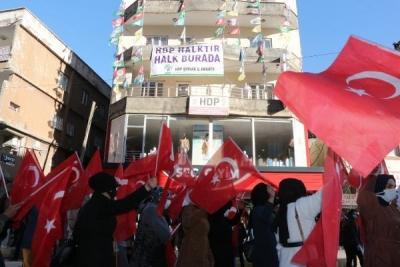 Şırnaklı kadınların HDP önündeki eyleminde 18'inci hafta