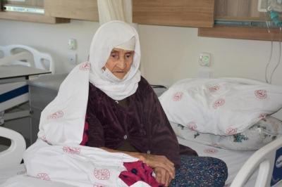 Şırnak'ta 120 yaşındaki kadın koronavirüsü yendi.