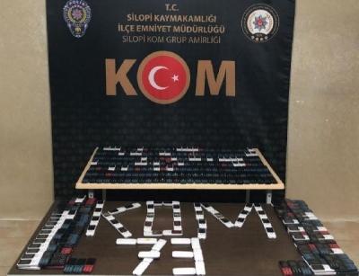 Şırnak'ta 427 gümrük kaçağı cep telefonu ele geçirildi