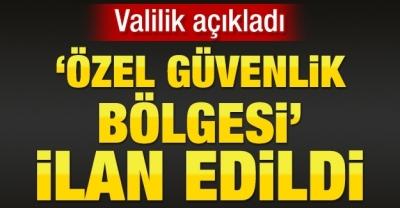 Şırnak'ta 54 Alan Özel Güvenlik Bölgesi İlan Edildi