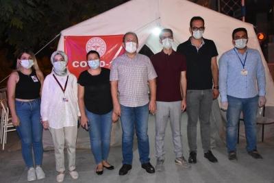 Şırnak'ta en az bir doz Kovid-19 aşısı yaptıranlar oranı yüzde 64'e ulaştı