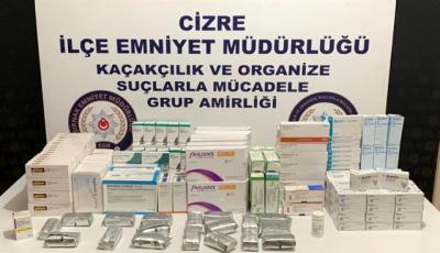 Şırnak'ta kaçakçılık operasyonlarında 28 şüpheli yakalandı