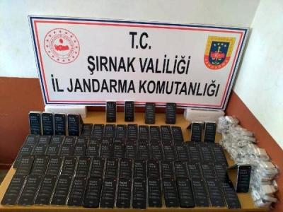 Şırnak'ta 'kaçakçılık' operasyonu: 46 gözaltı