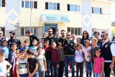 Şırnak'ta okul önlerinde uyuşturucu uygulaması