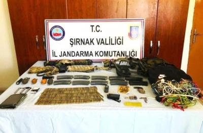 Şırnak'ta PKK  Operasyonu: 6 Gözaltı