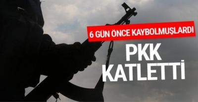 Şırnak'ta PKK Tarafından Kaçırılan 2 Köylü, Araçları Yakılarak Katledildi