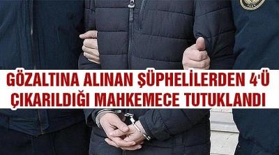 Şırnak'ta PKK'ya katılacaklara 'aracılık' edenlere operasyon: 4 tutuklama