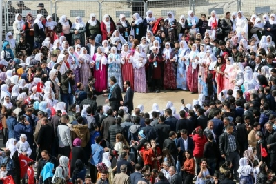 Şırnak'ta seçim halayı
