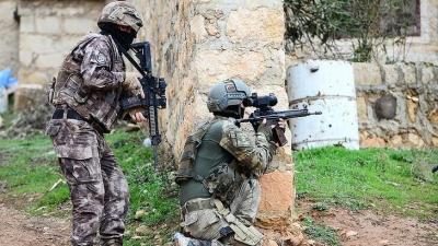 Şırnak'ta terör operasyonlarında yakalanan 35 şüpheliden 3'ü tutuklandı