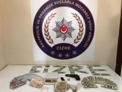 Şırnak'ta uyuşturucu operasyonu: 21 gözaltı