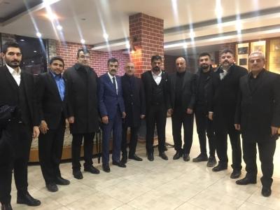 Türk Sağlık Sen Genel Başkan Yardımcıları Kenan KARAÇAM ve Mustafa KÖSE, Şırnak'ta