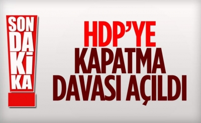 Yargıtay'dan HDP'ye kapatma davası