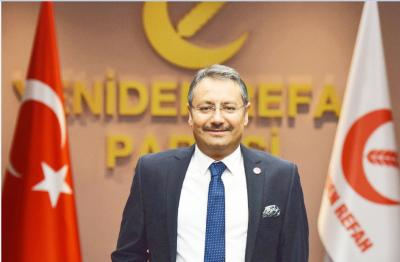 Yeniden Refah Partisinden dernekler yasasına tepki